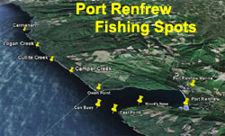 Port Renfrew fishing locations