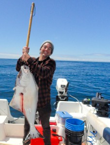 Joe First Halibut